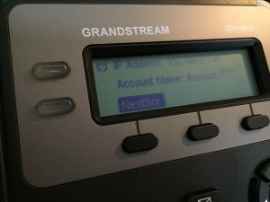 GXP1610 Easy Setup
