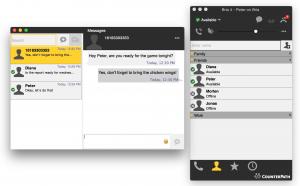 Screenshot of Bria Softphone