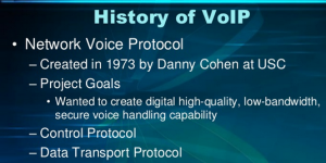 A Brief History of VoIP
