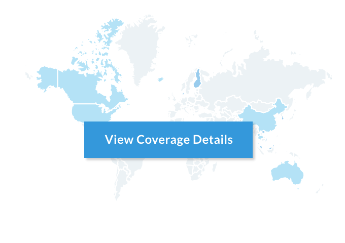 Telzio coverage map