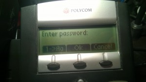 Enter password