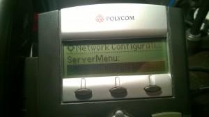 Server Menu