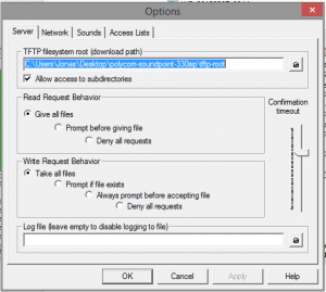 TFTP Example