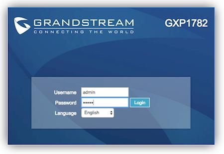 Grandstream GXP17xx - Telzio Support