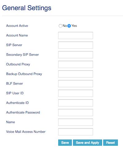 Enter user credentials