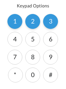 Keypad Options