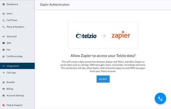 Zapier Walkthrough - Authorize Zapier